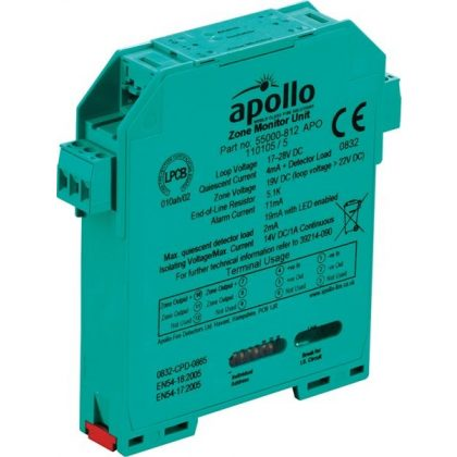 Apollo XP95 DIN sínes zóna monitor modul