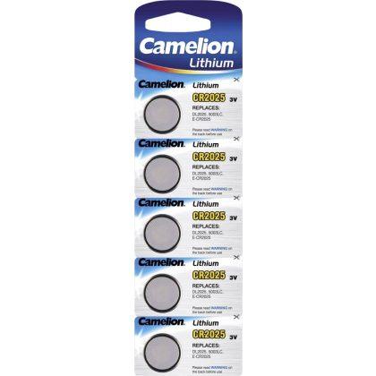 Camelion CR 2025 3V lítium gombelem
