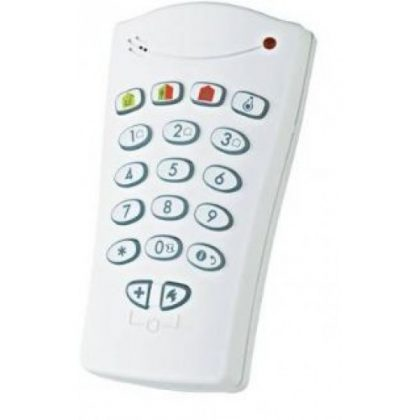 Visonic PowerG KP-140 PG2 Two-Way wireless keypad (868 MHz)