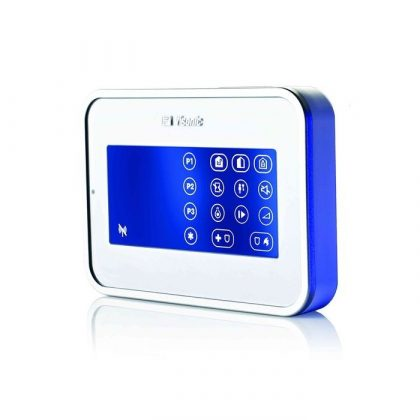 Visonic PowerG KP-160 PG2 touch screen (icon) two-way wireless keypad (868 MHz)