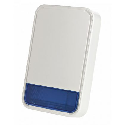 Visonic PowerCode MCS-740 DC wireless outdoor siren / light flasing