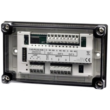 Global Fire 3 I/O Plus 2 csatornás modul, izolátoros