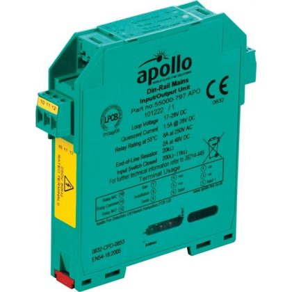 Apollo DIN-Rail Mains Input/Output Unit