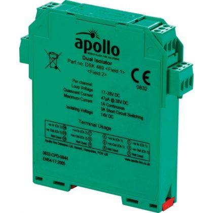 Apollo DIN-Rail Dual Isolator