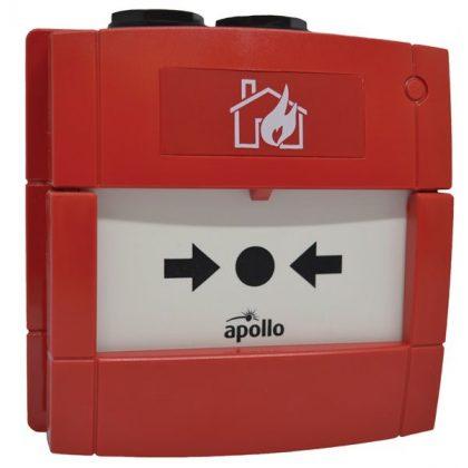 Apollo Kültéri hagyományos kézi jelzésadó (gyújtószikramentes) – piros