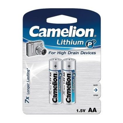 Camelion LR6 FR6 lítium vas-ceruza elem AA