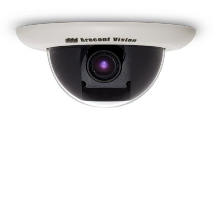 Arecont Vision varifocal Recessed dome camera