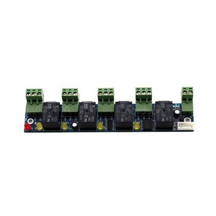 Sebury beléptető modul, vezérlő bővítő panel