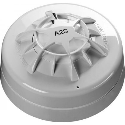 Apollo Orbis A2S Heat Detector with Flashing LED