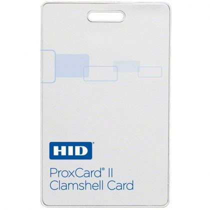 HID® Proximity 1326 ProxCard II® Clamshell Card