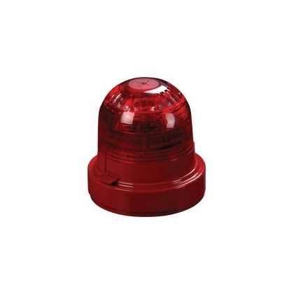 XPander rádiós hang-fényjelző (piros) aljzattal (piros)