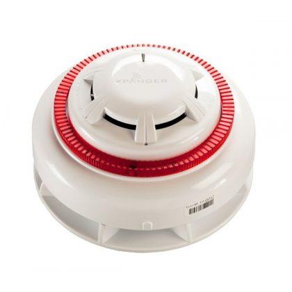 XPander rádiós optikai füstérzékelő, hang- és fényjelzővel egybeépítve