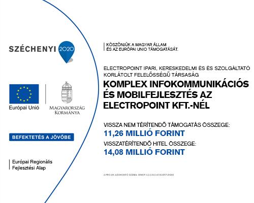 Komplex Infokommunikációs és Mobilfejlesztés az Electropoint Kft-nél